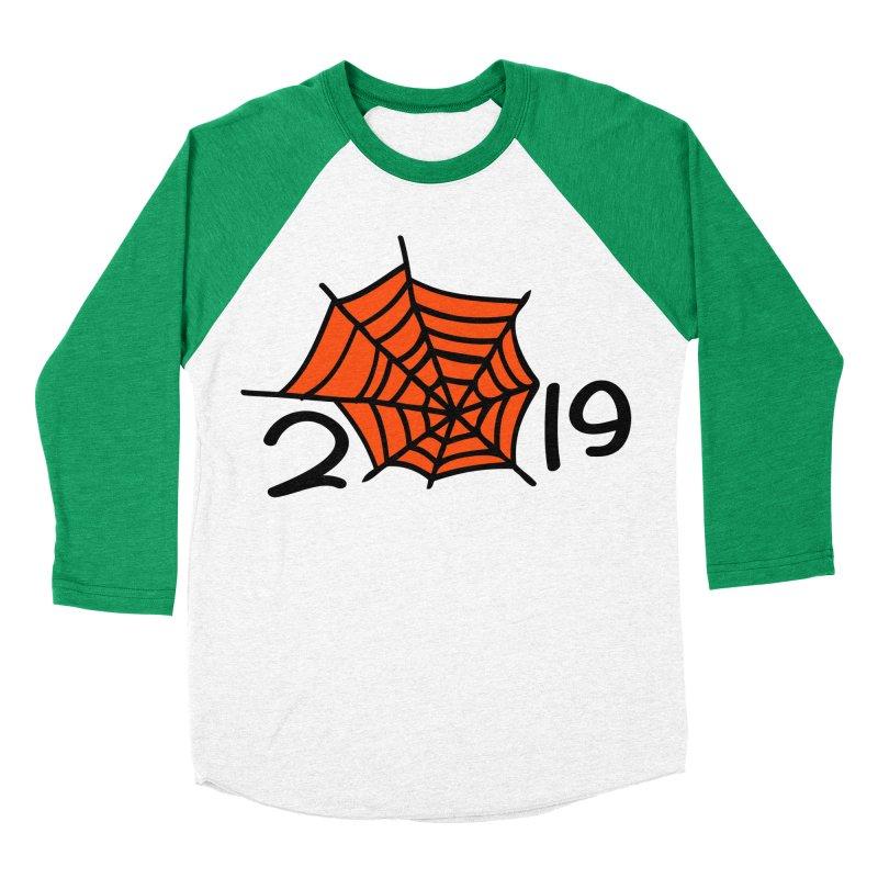 2019 spider web Women's Baseball Triblend Longsleeve T-Shirt by cindyshim's Artist Shop