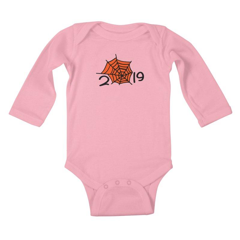 2019 spider web Kids Baby Longsleeve Bodysuit by cindyshim's Artist Shop