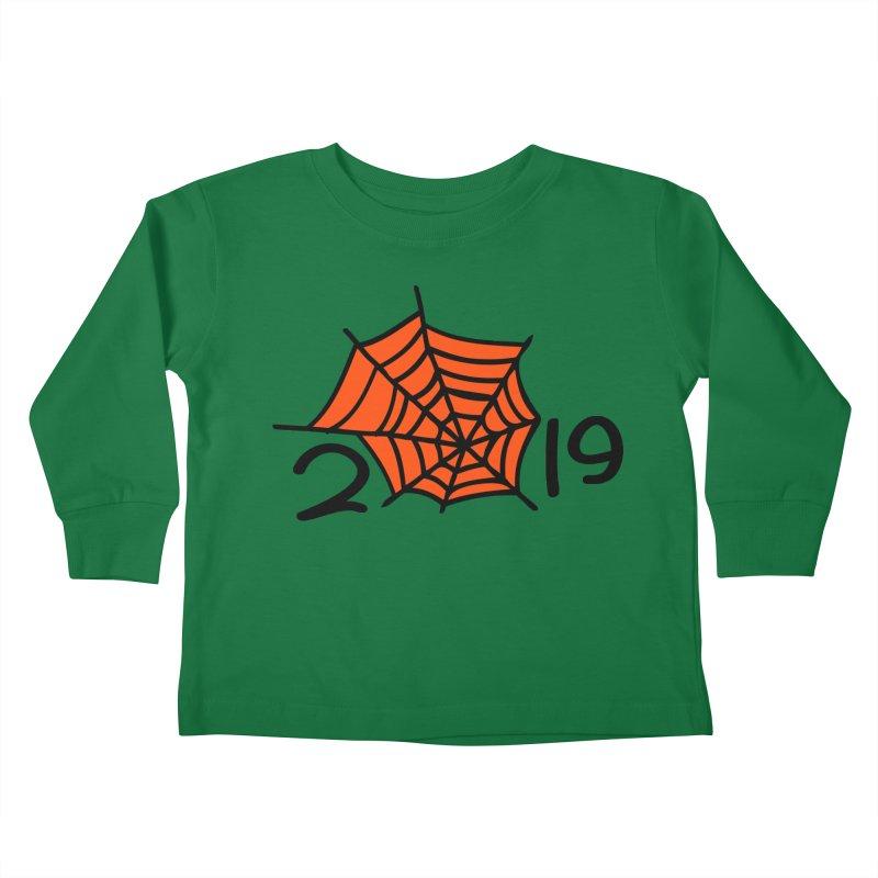 2019 spider web Kids Toddler Longsleeve T-Shirt by cindyshim's Artist Shop