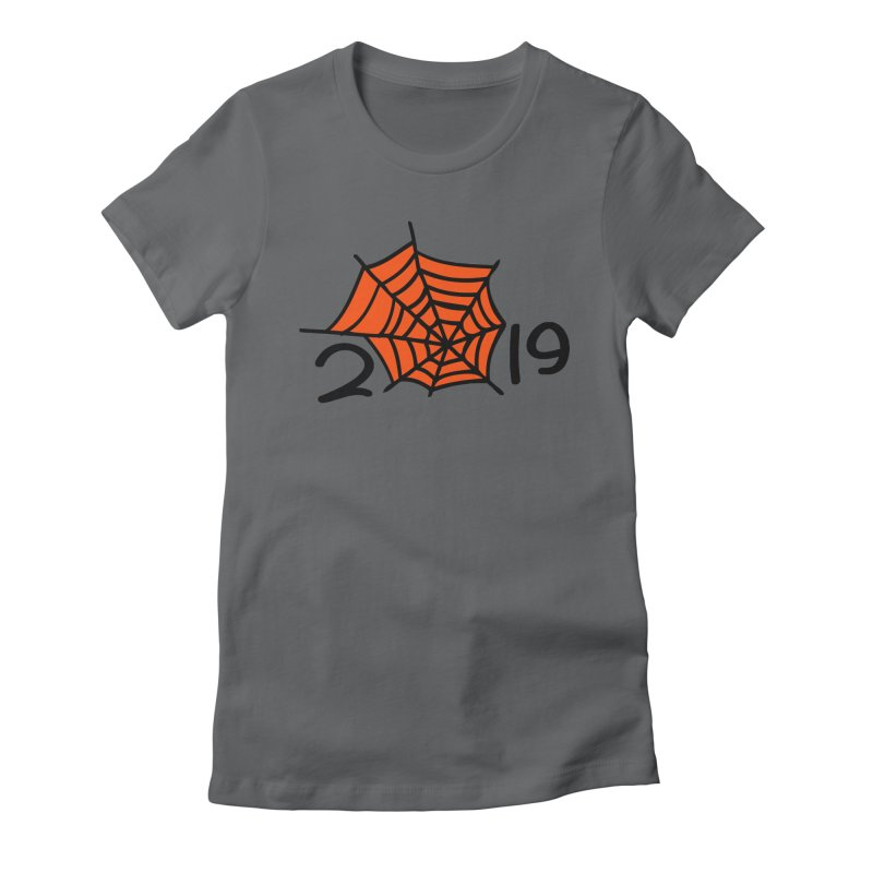 2019 spider web Women's Fitted T-Shirt by cindyshim's Artist Shop