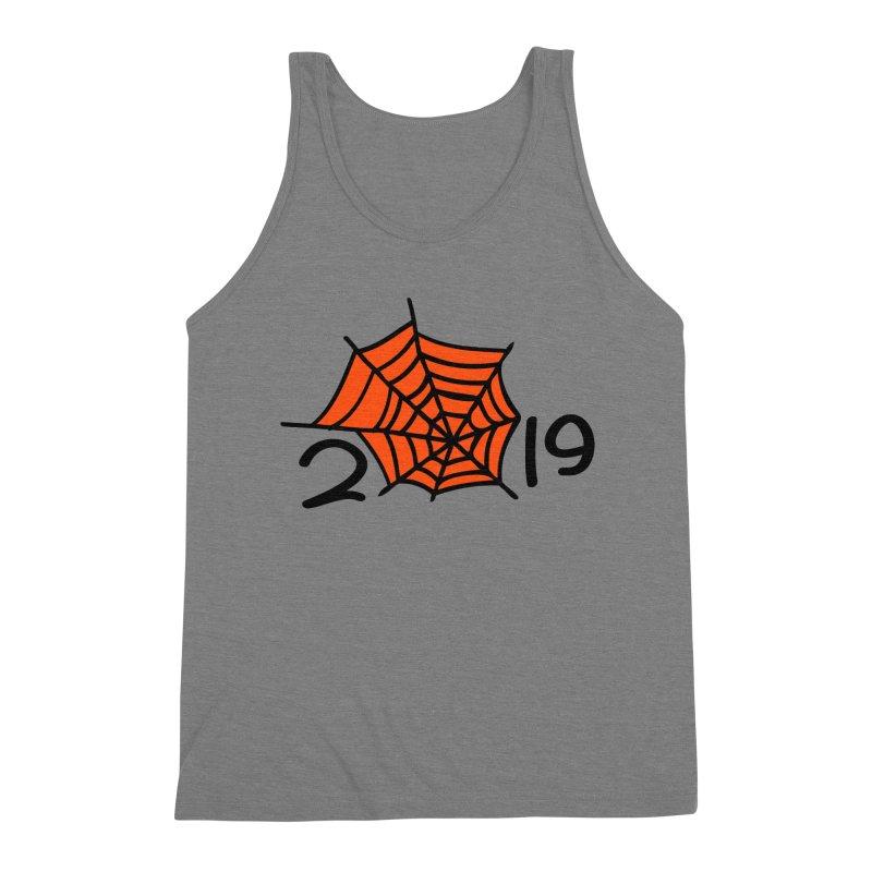 2019 spider web Men's Triblend Tank by cindyshim's Artist Shop