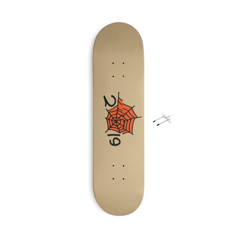2019 spider web Accessories With Hanging Hardware Skateboard by cindyshim's Artist Shop