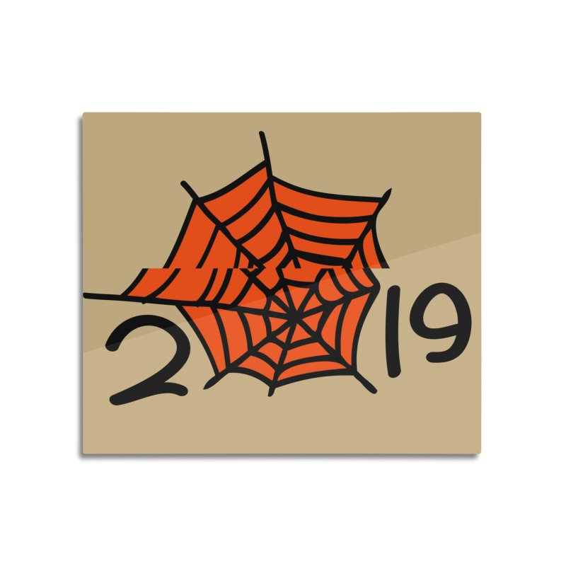 2019 spider web Home Mounted Acrylic Print by cindyshim's Artist Shop