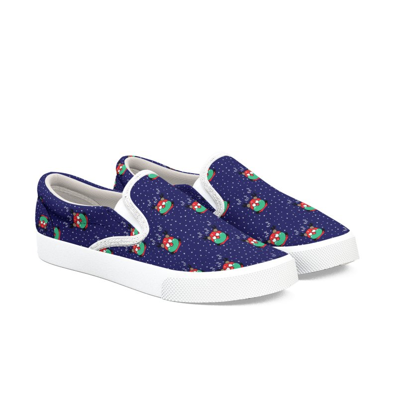 CoCo ho ho ho Women's Slip-On Shoes by cindyshim's Artist Shop
