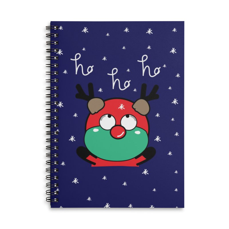 CoCo ho ho ho Accessories Lined Spiral Notebook by cindyshim's Artist Shop