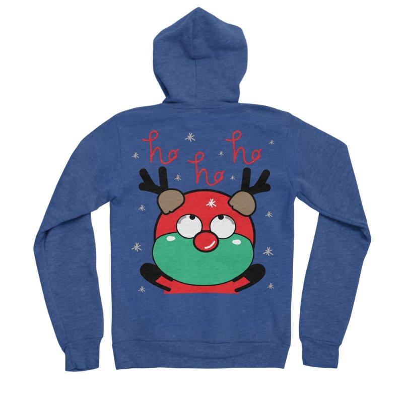 CoCo ho ho ho Men's Sponge Fleece Zip-Up Hoody by cindyshim's Artist Shop