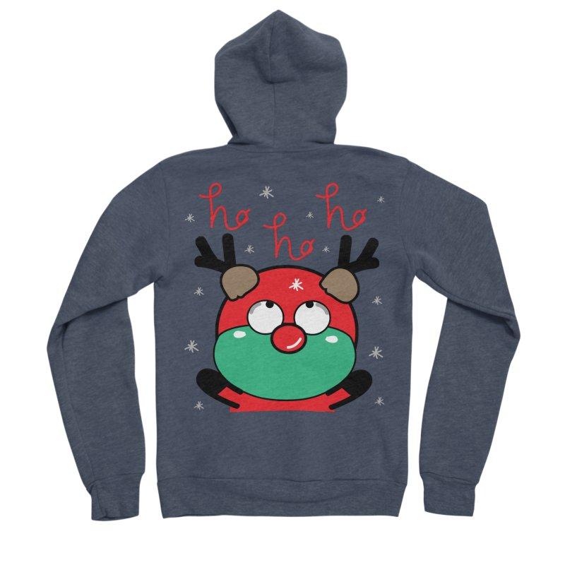 CoCo ho ho ho Women's Sponge Fleece Zip-Up Hoody by cindyshim's Artist Shop