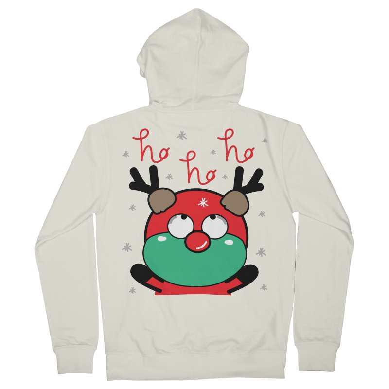 CoCo ho ho ho Women's French Terry Zip-Up Hoody by cindyshim's Artist Shop