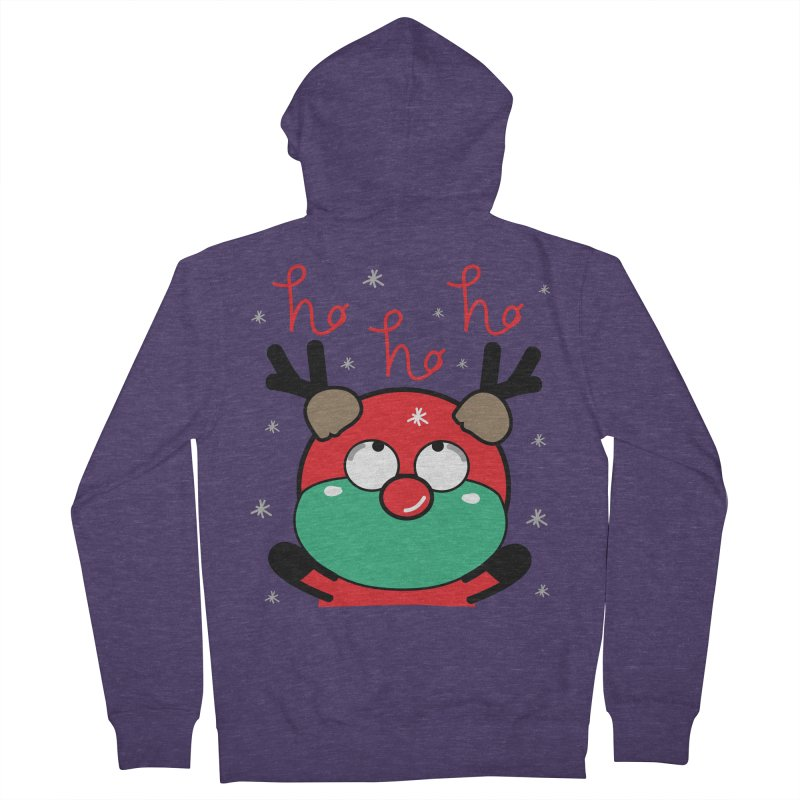 CoCo ho ho ho Men's French Terry Zip-Up Hoody by cindyshim's Artist Shop