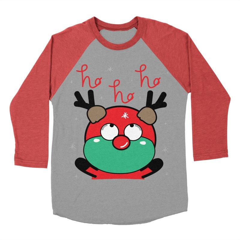 CoCo ho ho ho Men's Baseball Triblend Longsleeve T-Shirt by cindyshim's Artist Shop