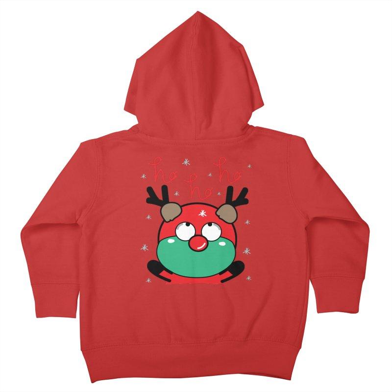 CoCo ho ho ho Kids Toddler Zip-Up Hoody by cindyshim's Artist Shop
