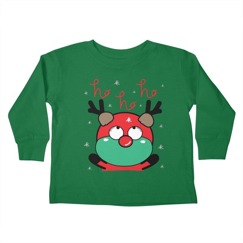 CoCo ho ho ho Kids Toddler Longsleeve T-Shirt by cindyshim's Artist Shop
