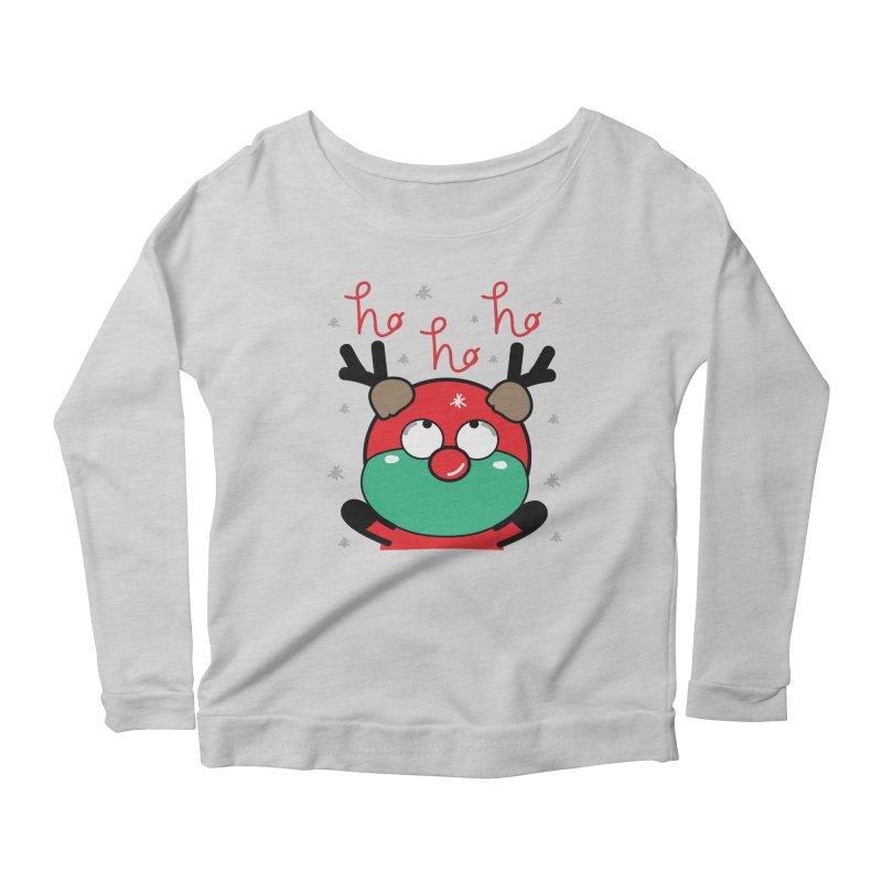CoCo ho ho ho Women's Scoop Neck Longsleeve T-Shirt by cindyshim's Artist Shop