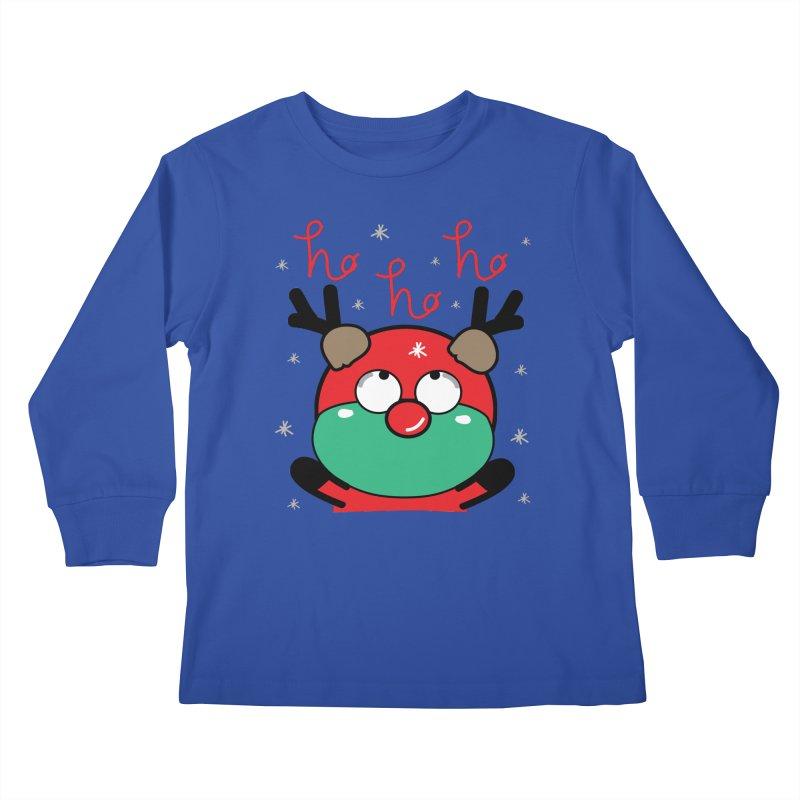 CoCo ho ho ho Kids Longsleeve T-Shirt by cindyshim's Artist Shop