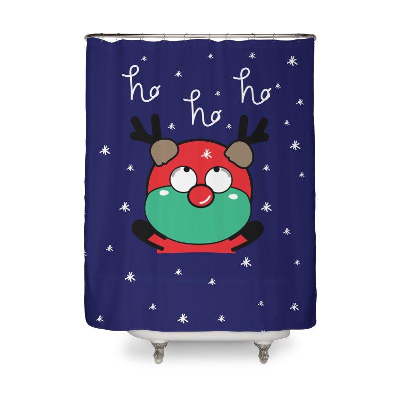 CoCo ho ho ho Home Shower Curtain by cindyshim's Artist Shop