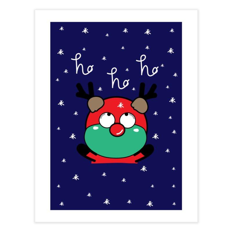 CoCo ho ho ho Home Fine Art Print by cindyshim's Artist Shop