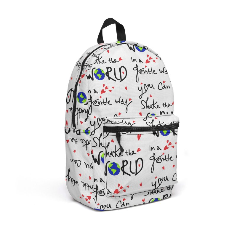 You can shake the world Accessories Backpack Bag by cindyshim's Artist Shop