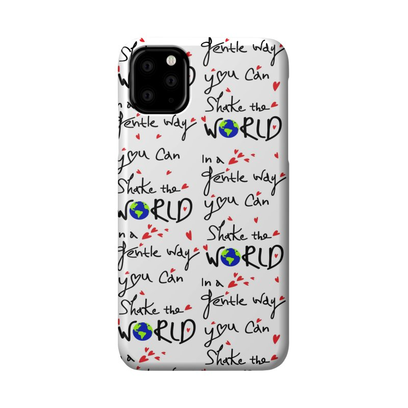 You can shake the world Accessories Phone Case by cindyshim's Artist Shop