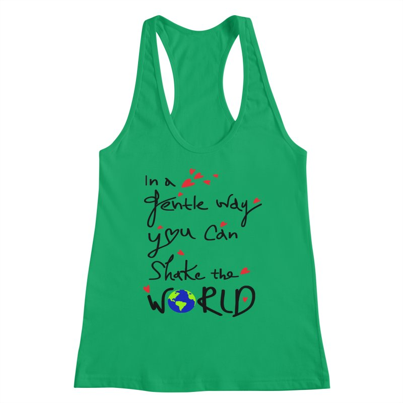 You can shake the world Women's Tank by cindyshim's Artist Shop
