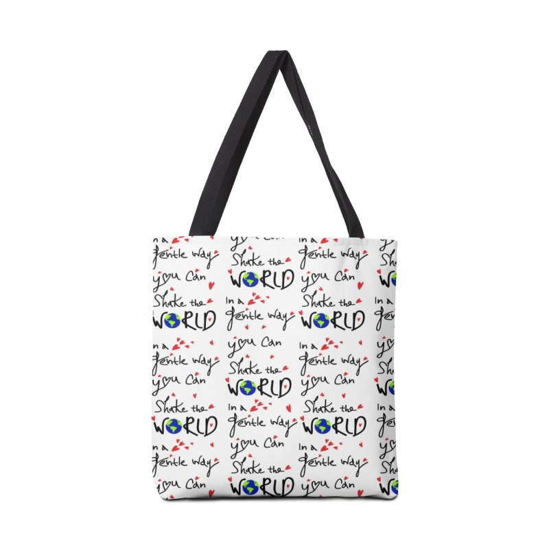 You can shake the world Accessories Tote Bag Bag by cindyshim's Artist Shop