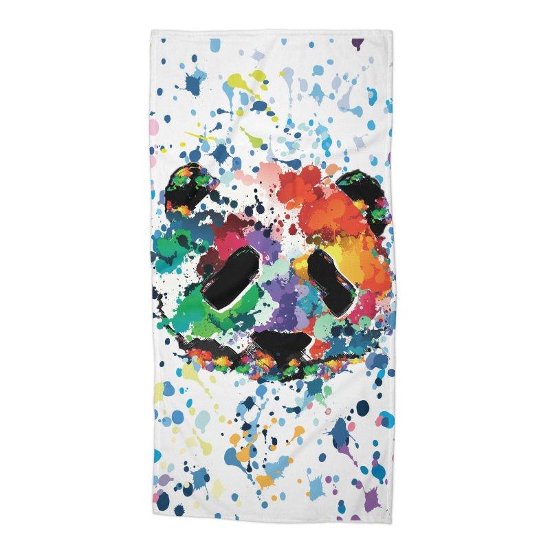 Splash Panda Accessories Beach Towel by cindyshim's Artist Shop