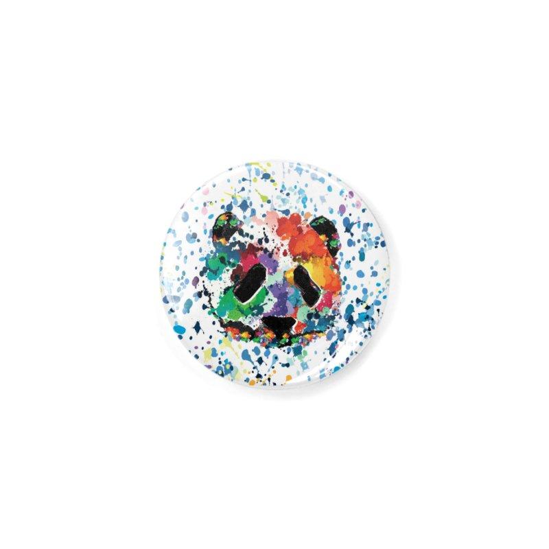 Splash Panda Accessories Button by cindyshim's Artist Shop