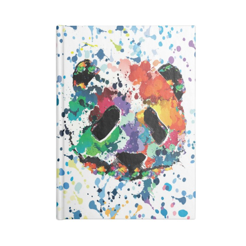 Splash Panda Accessories Blank Journal Notebook by cindyshim's Artist Shop