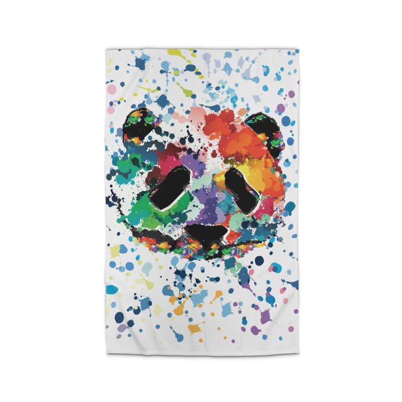 Splash Panda Home Rug by cindyshim's Artist Shop
