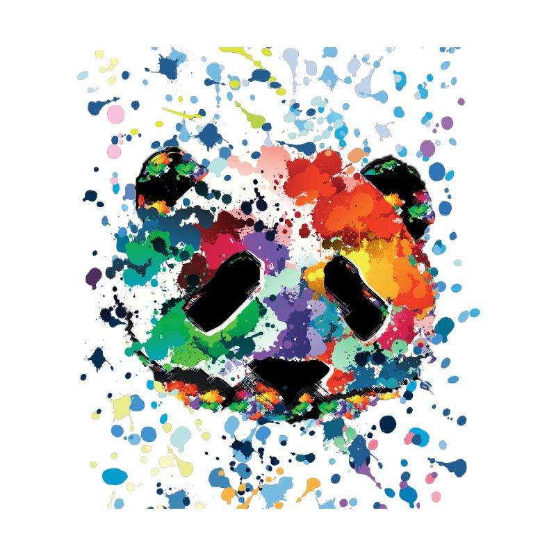 Splash Panda Men's T-Shirt by cindyshim's Artist Shop