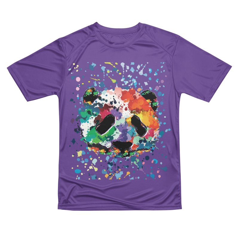 Splash Panda Women's Performance Unisex T-Shirt by cindyshim's Artist Shop