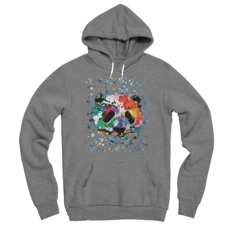 Splash Panda Women's Sponge Fleece Pullover Hoody by cindyshim's Artist Shop