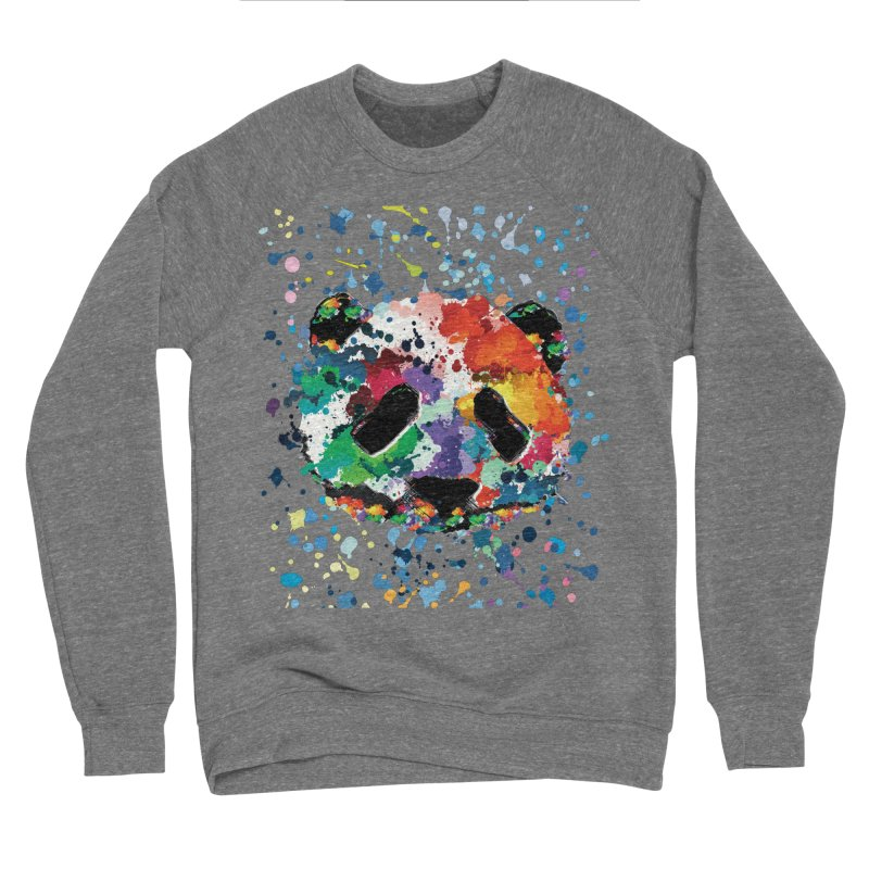 Splash Panda Women's Sponge Fleece Sweatshirt by cindyshim's Artist Shop