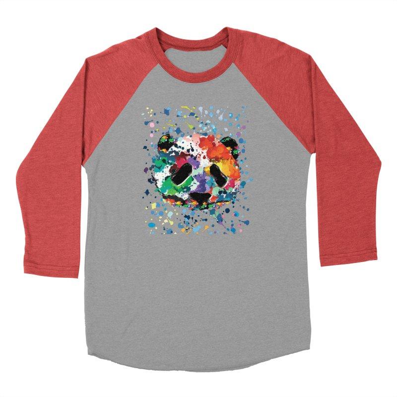Splash Panda Men's Longsleeve T-Shirt by cindyshim's Artist Shop