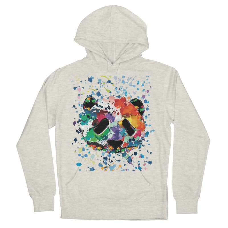 Splash Panda Women's French Terry Pullover Hoody by cindyshim's Artist Shop