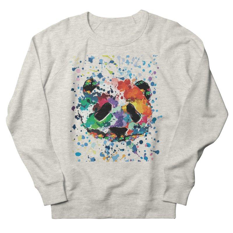 Splash Panda Women's French Terry Sweatshirt by cindyshim's Artist Shop