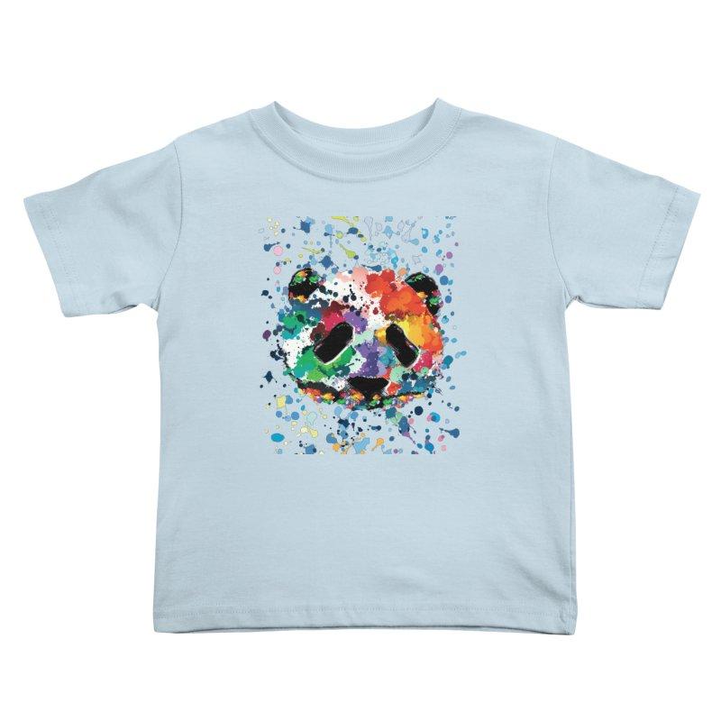 Splash Panda Kids Toddler T-Shirt by cindyshim's Artist Shop