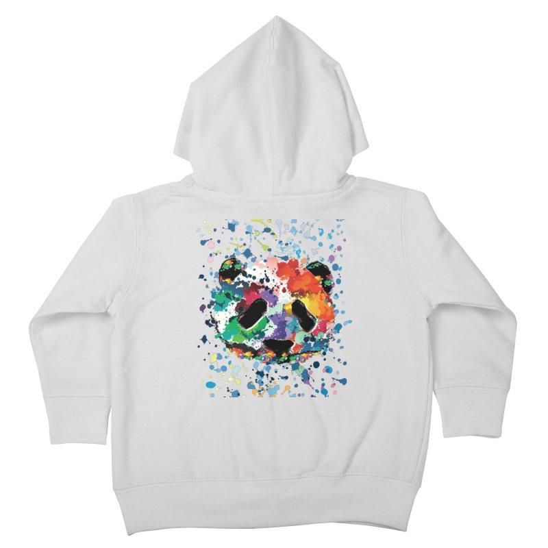 Splash Panda Kids Toddler Zip-Up Hoody by cindyshim's Artist Shop
