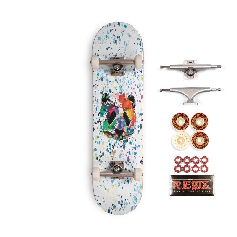 Splash Panda Accessories Skateboard by cindyshim's Artist Shop