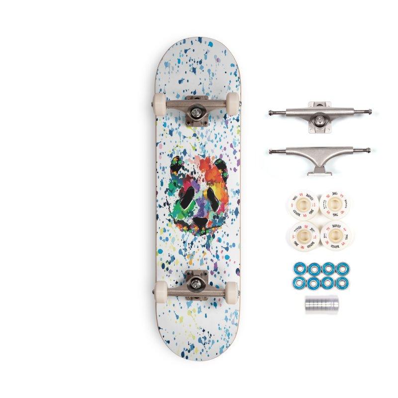 Splash Panda Accessories Complete - Premium Skateboard by cindyshim's Artist Shop