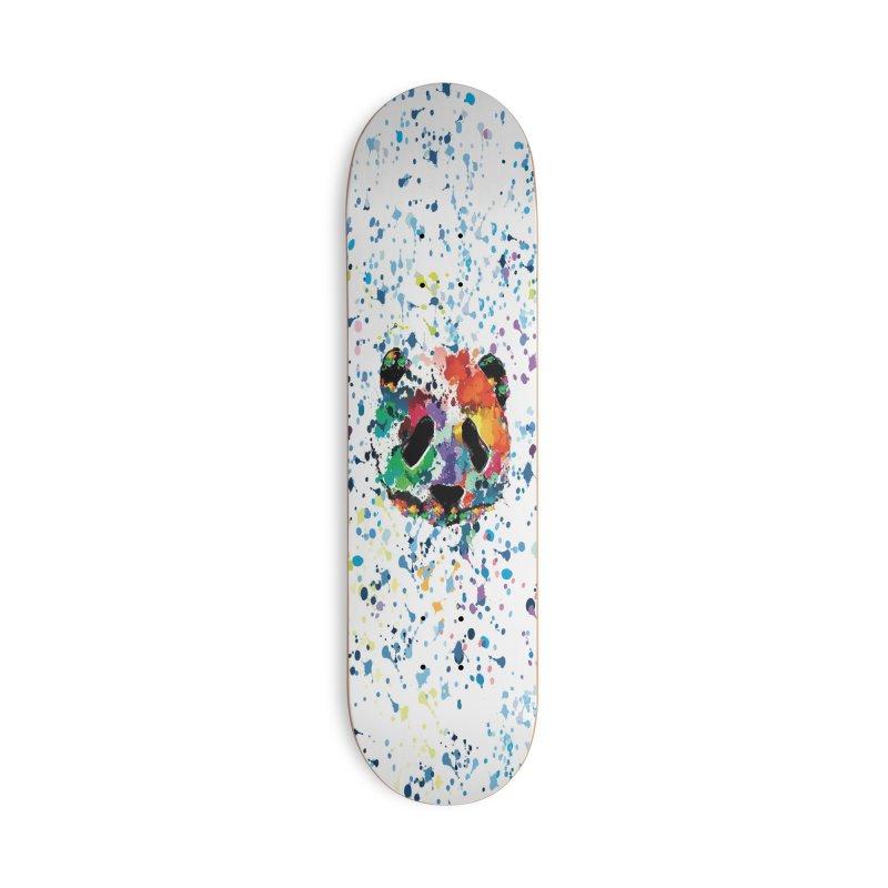 Splash Panda Accessories Deck Only Skateboard by cindyshim's Artist Shop