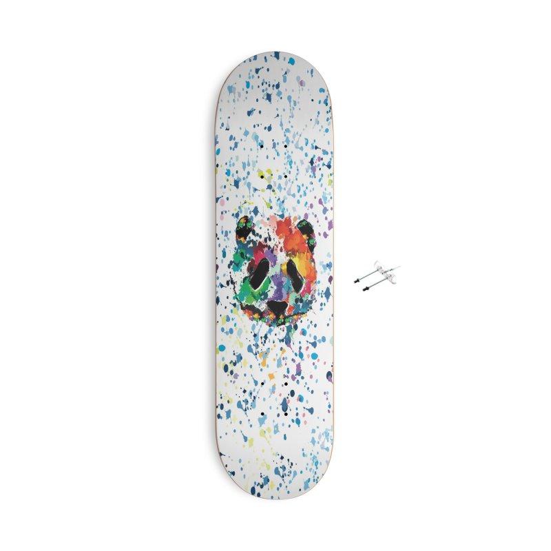 Splash Panda Accessories With Hanging Hardware Skateboard by cindyshim's Artist Shop