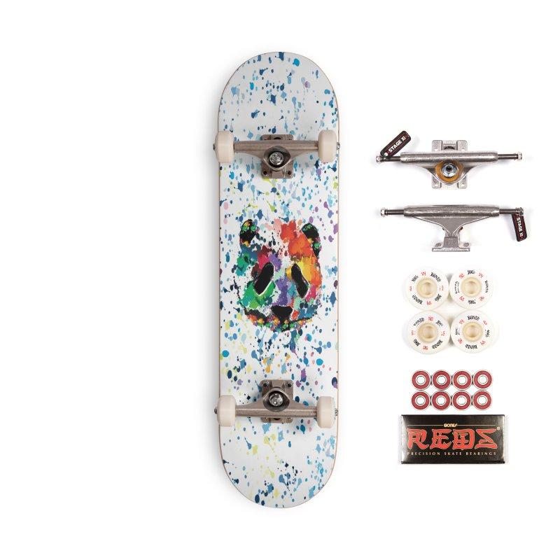 Splash Panda Accessories Complete - Pro Skateboard by cindyshim's Artist Shop