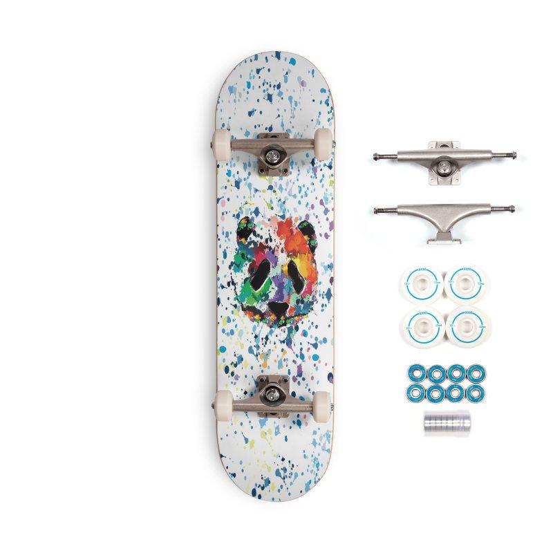 Splash Panda Accessories Complete - Basic Skateboard by cindyshim's Artist Shop