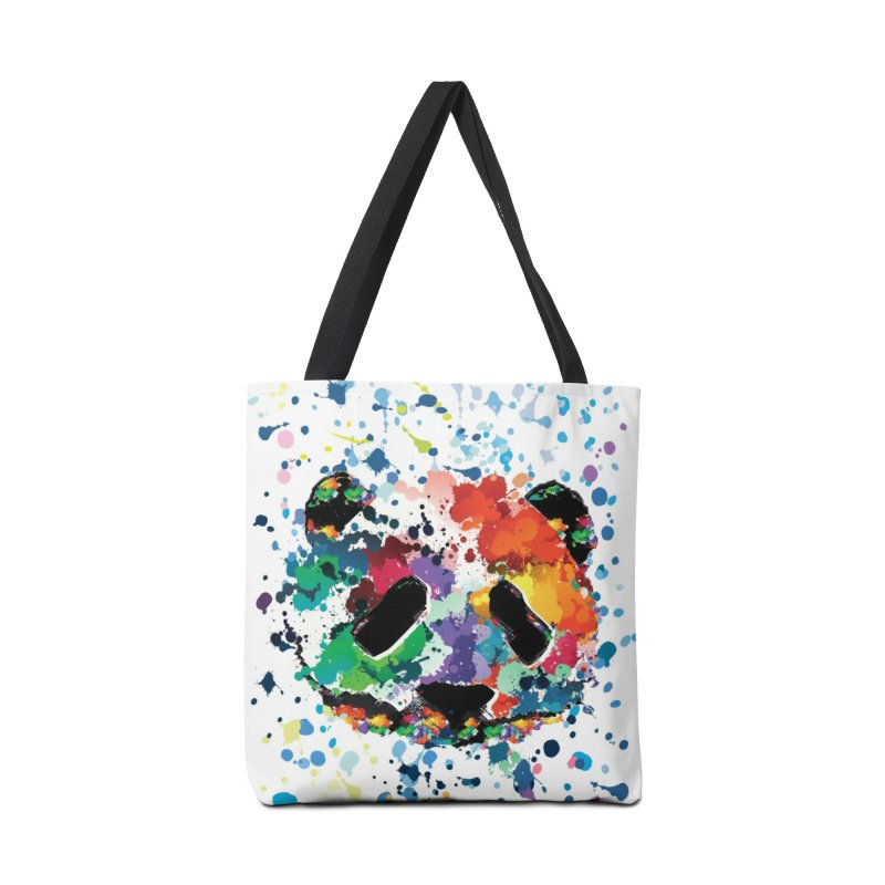 Splash Panda Accessories Tote Bag Bag by cindyshim's Artist Shop