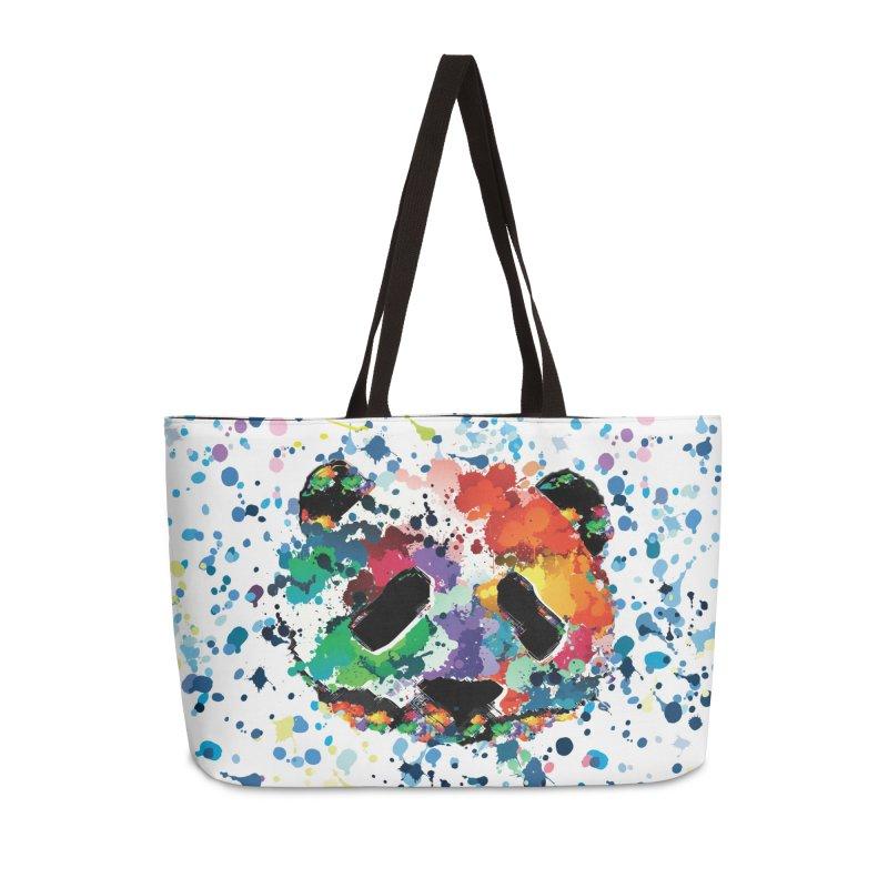 Splash Panda Accessories Weekender Bag Bag by cindyshim's Artist Shop