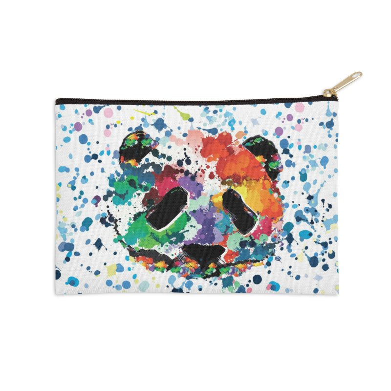 Splash Panda Accessories Zip Pouch by cindyshim's Artist Shop