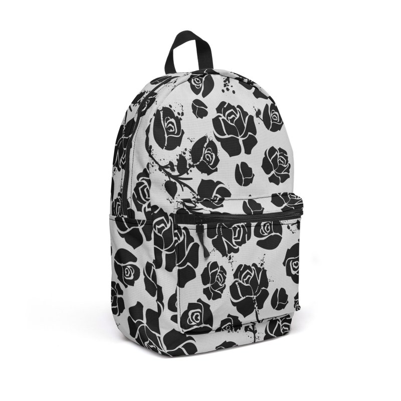 Black roses Accessories Backpack Bag by cindyshim's Artist Shop