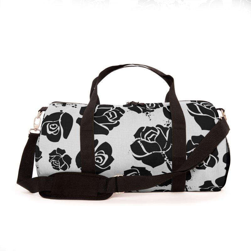 Black roses Accessories Bag by cindyshim's Artist Shop