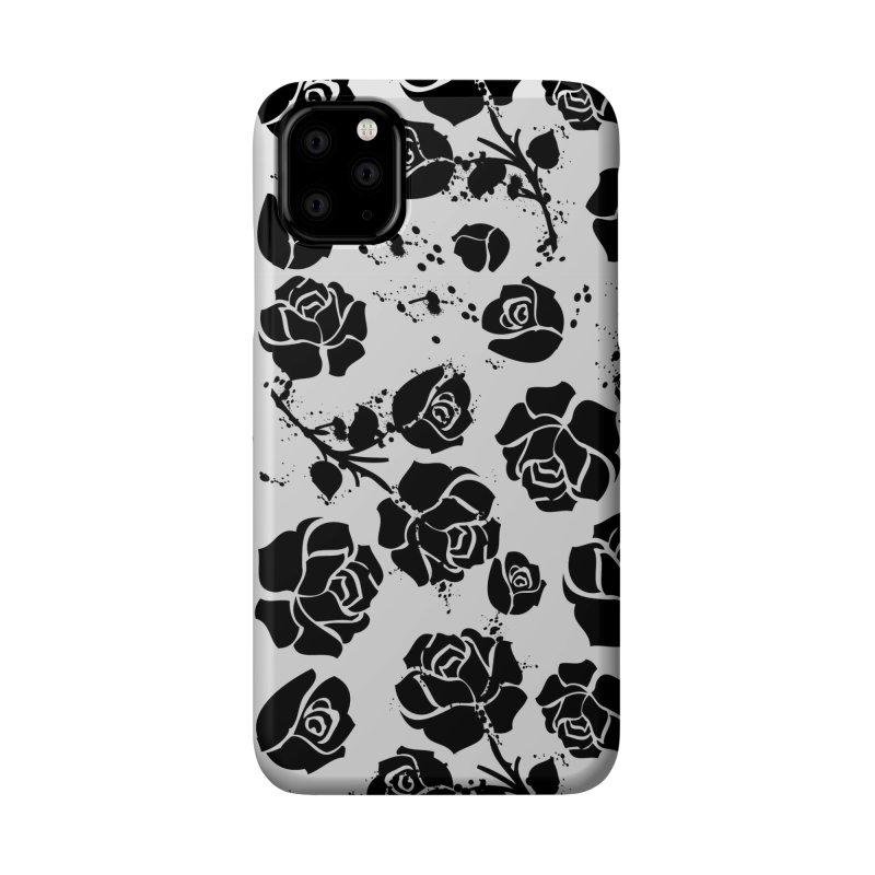 Black roses Accessories Phone Case by cindyshim's Artist Shop