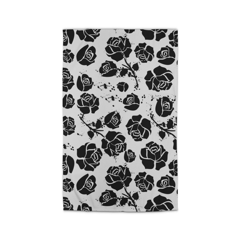 Black roses Home Rug by cindyshim's Artist Shop